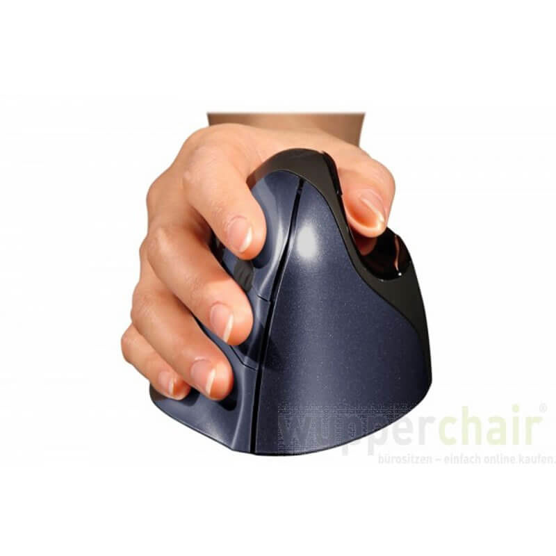 Evoluent Wireless Mouse blau 2
